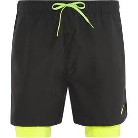 "Nike Swim 2-In-1 Trainer Volley Shorts Men 5"" Black"
